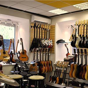 Музыкальные магазины Острова